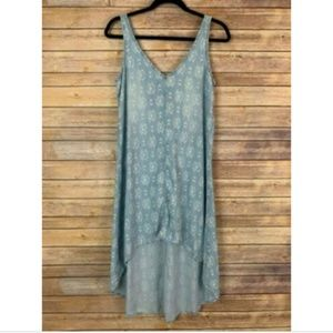 Cloth & Stone Anthropologie S Chambray Dress